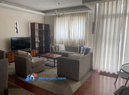 Fully Furnished 3 Bedroom Apartment in Bole Atlas